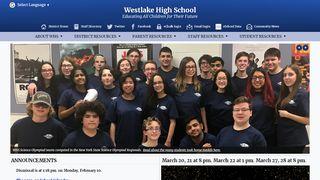 Westlake Student Portal