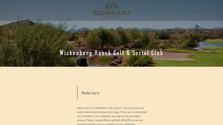 Wickenburg Ranch Member Portal
