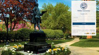 Wilkes University Portal