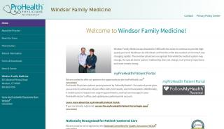 Windsor Family Medicine Portal