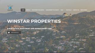 Winstar Properties Tenant Portal