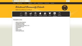 Winterset Schools Parent Portal