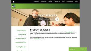 Witcc Student Portal