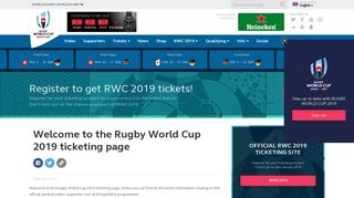 World Cup Rugby Login