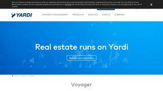 Yardi Voyager Plus Login
