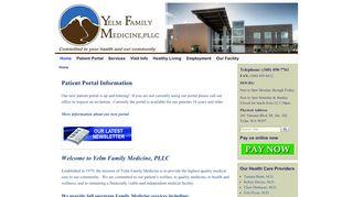 Yelm Family Medicine Portal