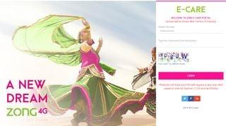 Zong Web Portal