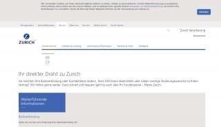 Zurich Online Portal