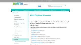 Amita Employee Portal
