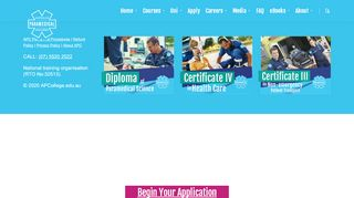 Australian Paramedical College Student Portal