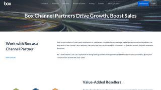 Box Partner Portal