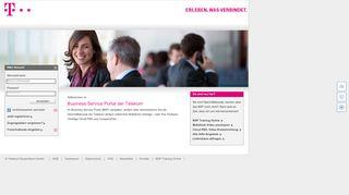 Business Service Portal