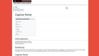 Captive Portal Proxy