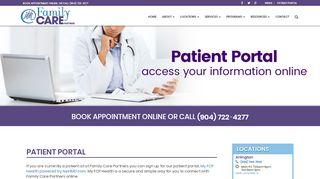 Care Partners Portal