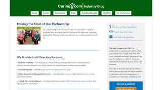 Caring Com Partner Portal