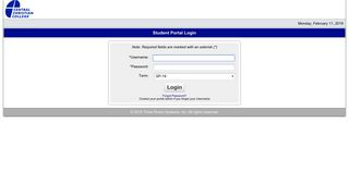 Central Christian College Student Portal
