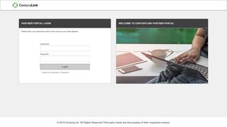Centurylink Partner Portal