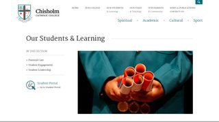 Chisholm Catholic College Student Portal
