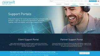 Clearswift Portal