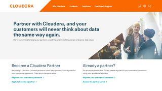 Cloudera Partner Portal