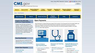 Cms Open Payments Portal