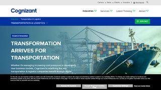 Cognizant Transport Portal