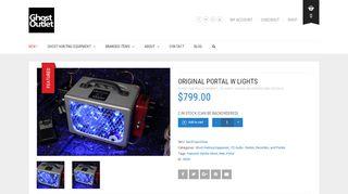 Compact Portal Blue Pedal