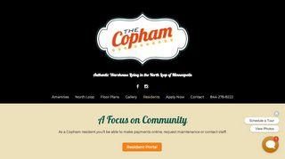 Copham Portal