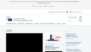 Council Of The European Union Delegates Portal