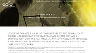 Creditor Portal