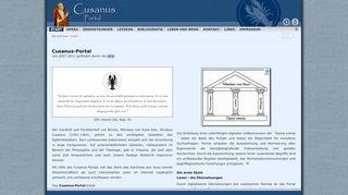 Cusanus Portal