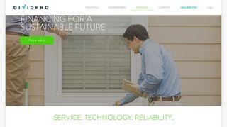 Dividend Partner Portal