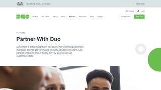 Duo Partner Portal