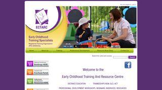 Ectarc Training Portal