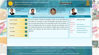 Education Maharashtra Gov In Staff Portal