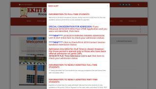 Ekiti State University Portal
