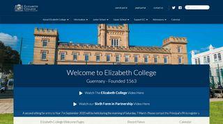 Elizabeth College Guernsey Parent Portal
