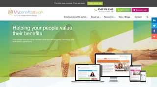Employee Benefits Website Portal