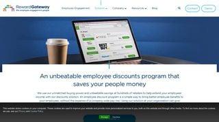 Employee Discount Portal