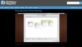 Filemaker Dynamic Portal Filtering
