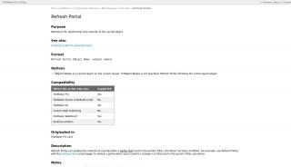 Filemaker Refresh Portal