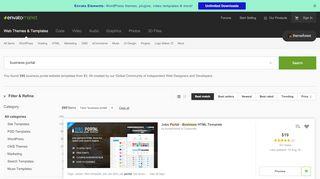 Finance Portal Theme