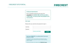 Firecrest Clinical Portal