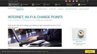 Gatwick Wifi Portal