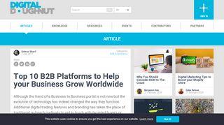 Global B2b Portal