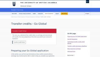 Go Global Portal