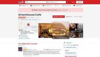 Greenhouse Cafe West Portal