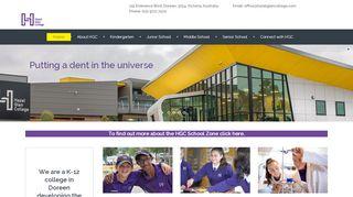 Hazel Glen College Portal