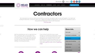 Head Resourcing Timesheet Portal