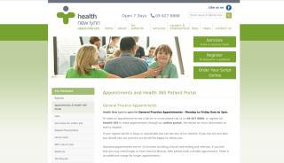 Health New Lynn Patient Portal